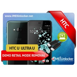 HTC U / ULTRA U ALL OTHER MODELS DEMO RETAIL MODE REMOVAL SERVICES ON