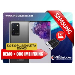 SAMSUNG S20 S20+ S20 ULTRA EXYNOS BAD BLACKLISTED & DEMO RETAIL MODE REMOVE WITH 000 IMEI FIXING REMOTE SERVICES