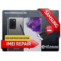 SAMSUNG S20 , S20 PLUS , S20 ULTRA USA MODEDLS REMOTE IMEI REPAIR BY USB