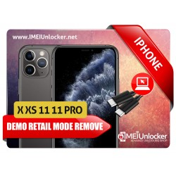 APPLE IPHONE DEMO RETAIL MODE REMOVE SERVICES