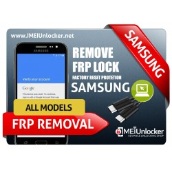 SAMSUNG GOOGLE/FRP/ACCOUNT REMOVAL ONLINE REMOTE SERVICE OVER USB