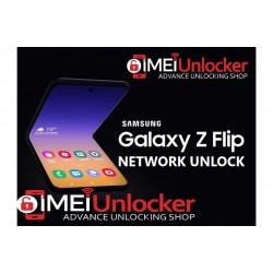 SAMSUNG GALAXY Z FLIP F700U SPRINT TMOBILE ATT METRO NETWORK UNLOCK INSTANT